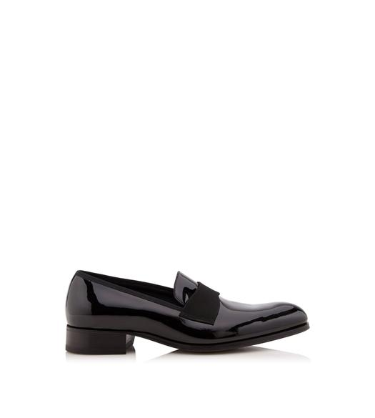 EDGAR PATENT LEATHER EVENING LOAFER