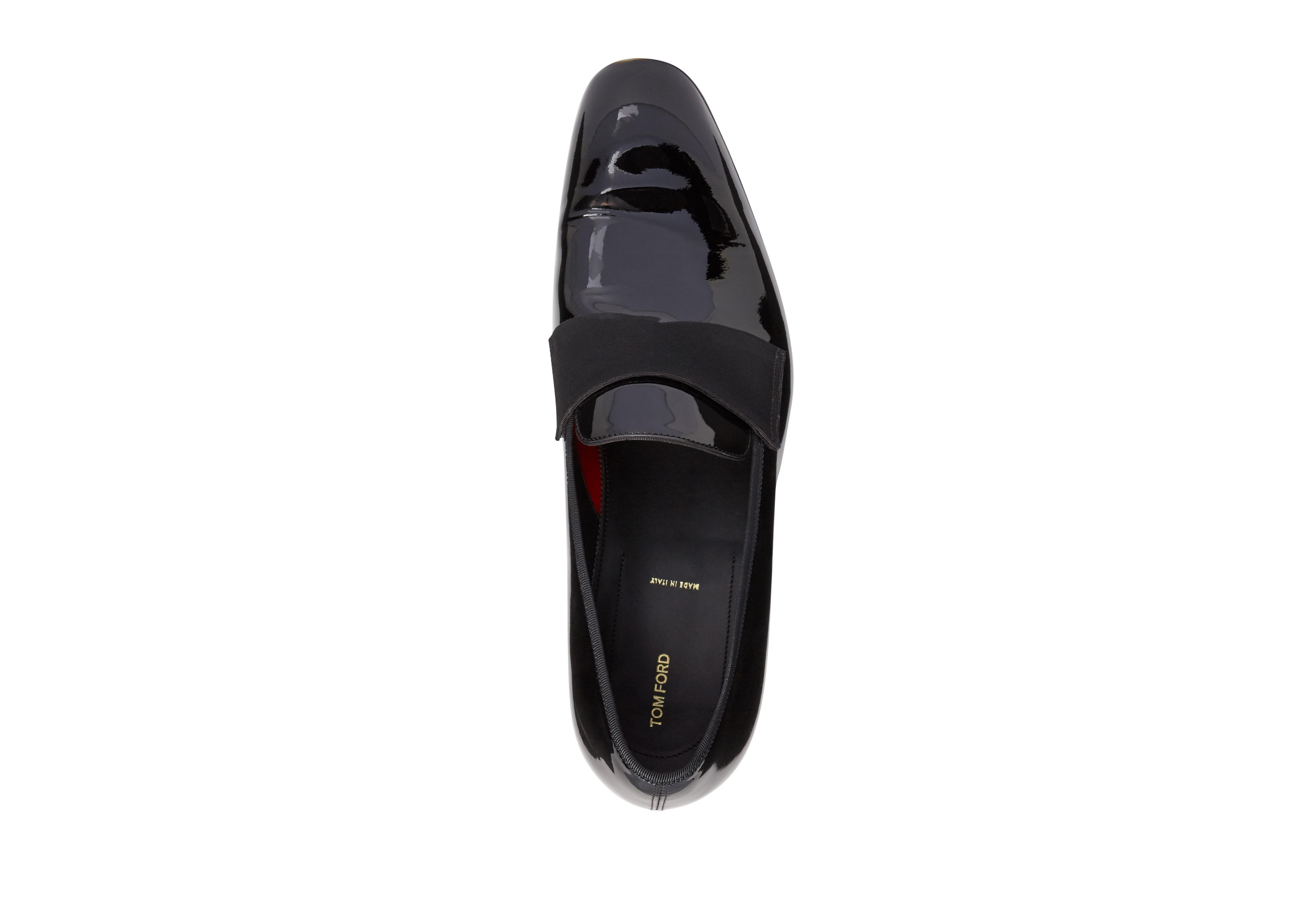 EDGAR PATENT LEATHER EVENING LOAFER B thumbnail