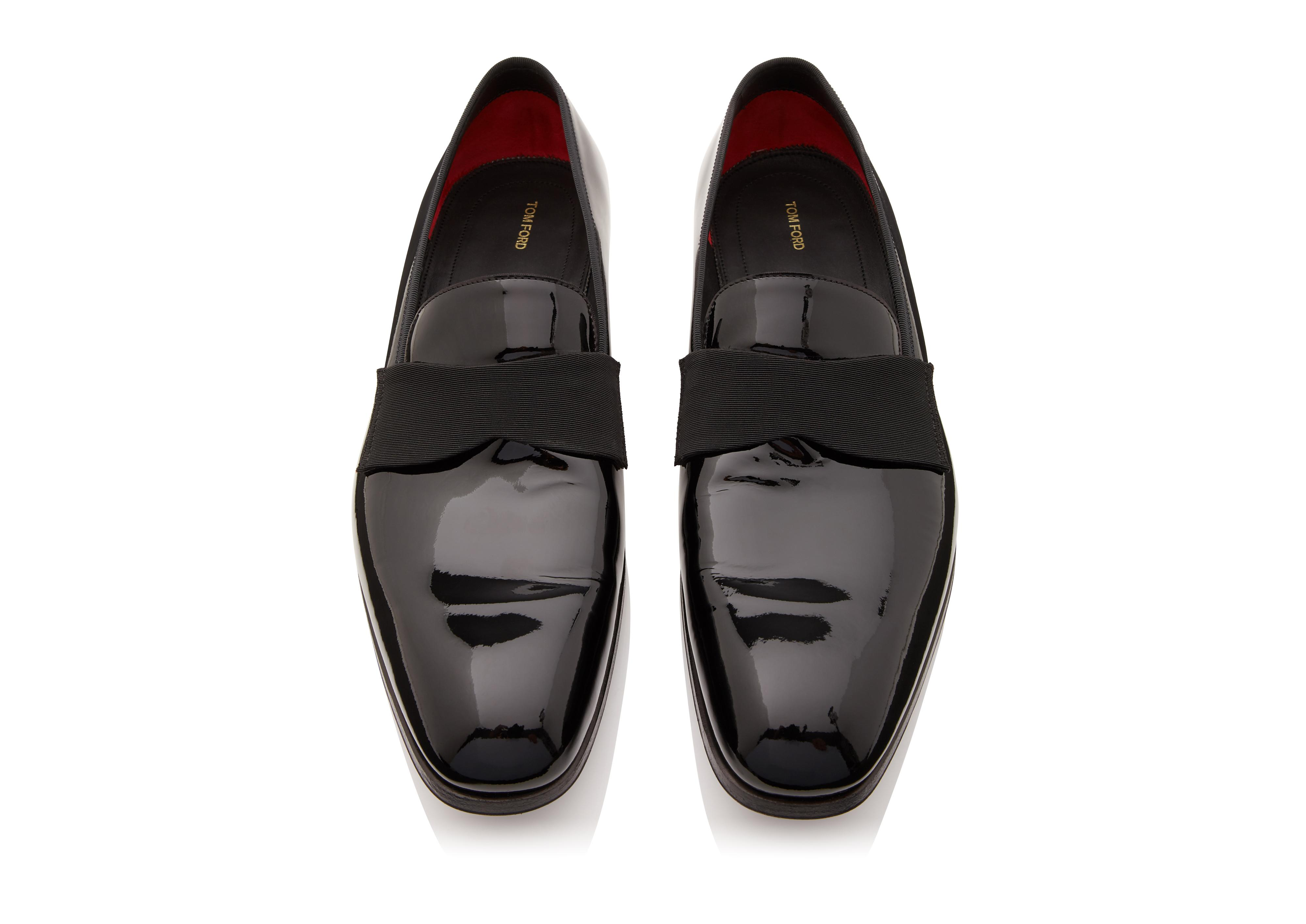 EDGAR PATENT LEATHER EVENING LOAFER C thumbnail