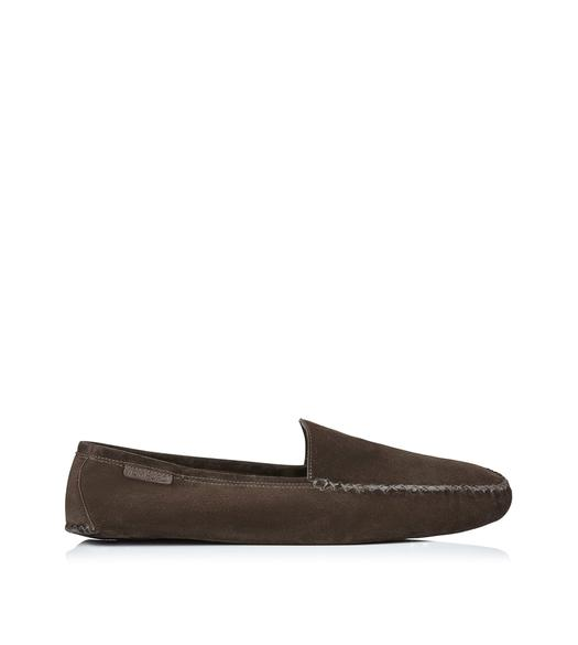 HOWARD SUEDE INDOOR SLIPPER