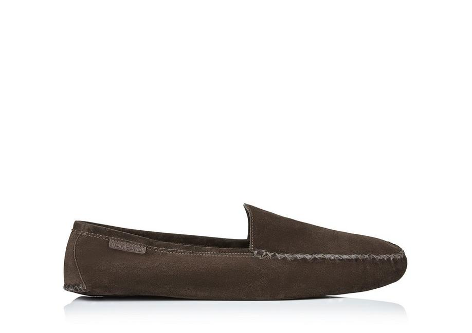 HOWARD SUEDE INDOOR SLIPPER A fullsize