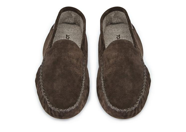 HOWARD SUEDE INDOOR SLIPPER C fullsize