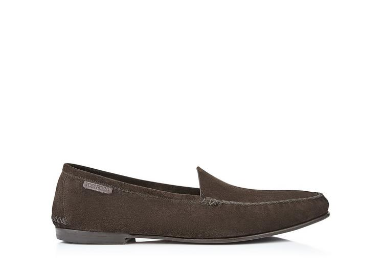 HOWARD SUEDE OUTDOOR SLIPPER A fullsize