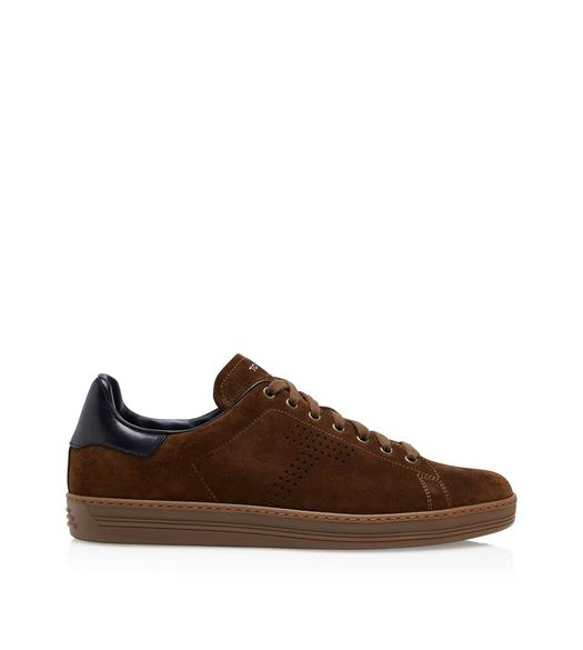 7bfd62bf3c WARWICK CONTRAST SUEDE SNEAKERS