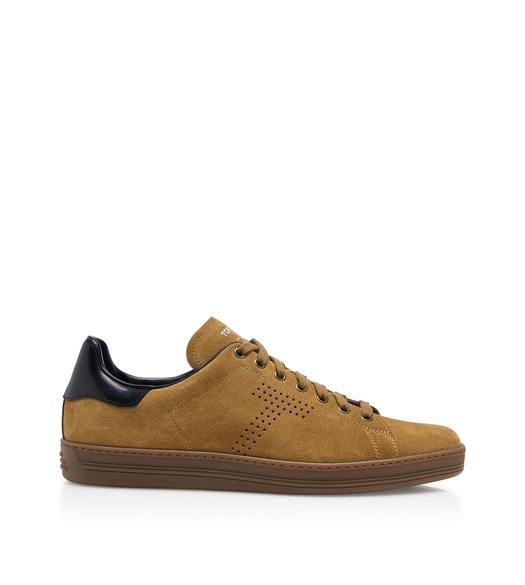 the latest cbea5 07979 WARWICK CONTRAST SUEDE SNEAKERS