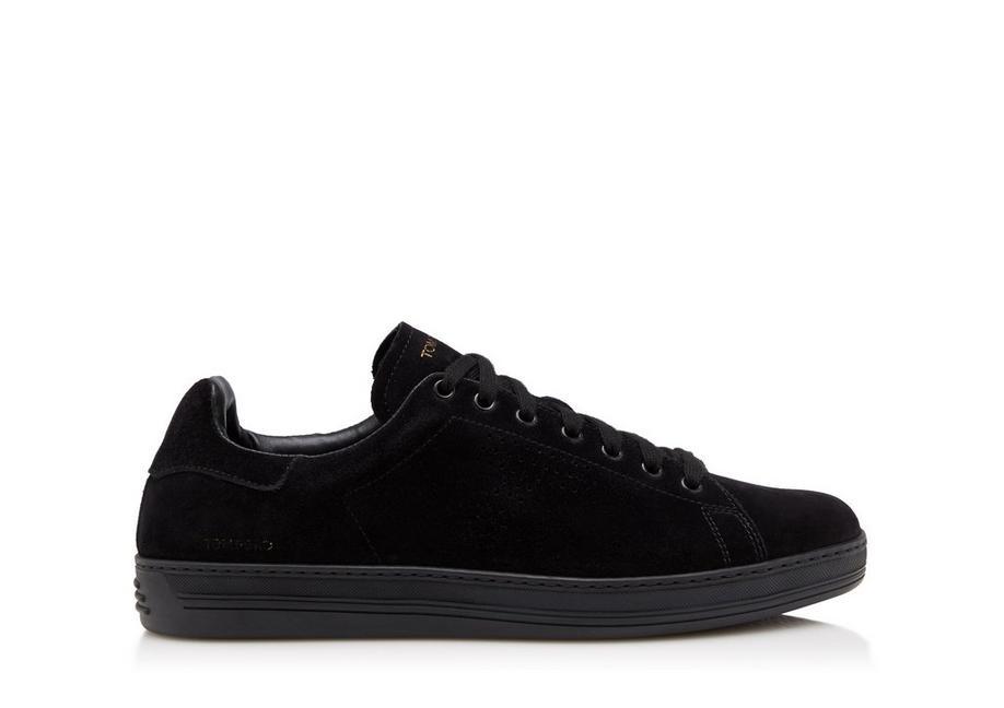 Sneaker suede black Tom Ford OKuqUnM
