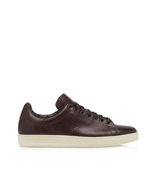 BURNISHED LEATHER WARWICK SNEAKERS