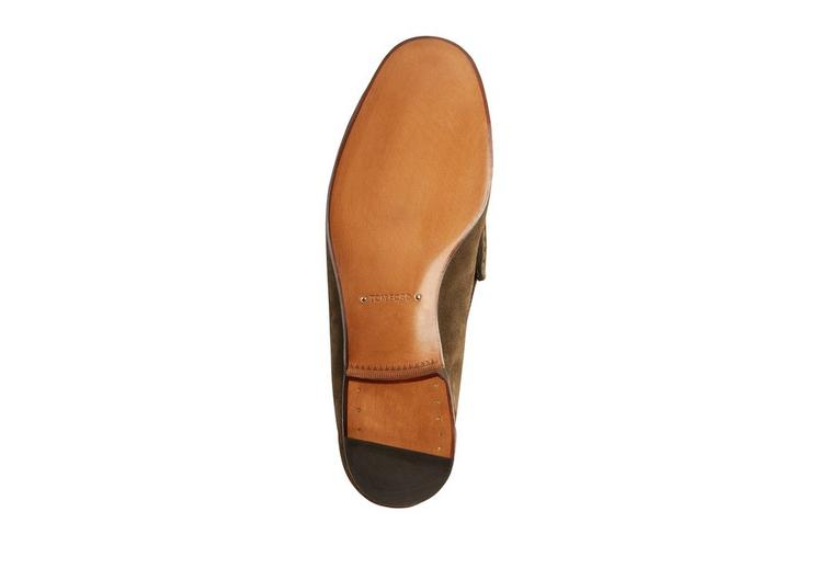 SUEDE YORK CHAIN LOAFERS D fullsize