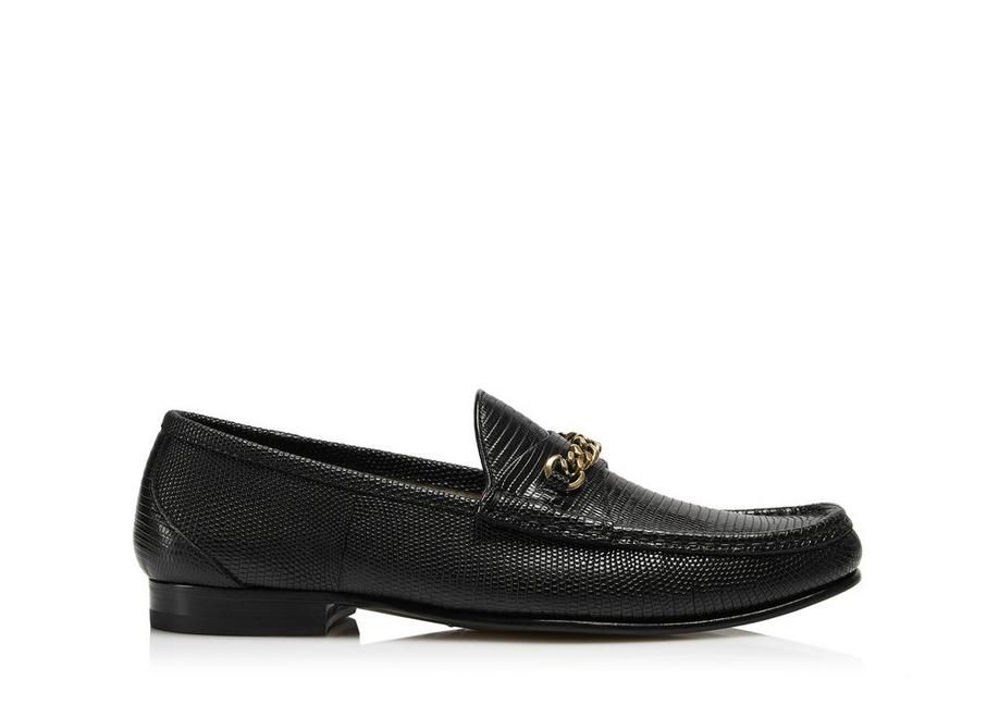 LIZARD YORK CHAIN LOAFERS A fullsize