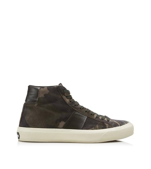 CAMOUFLAGE CAMBRIDGE HIGH TOP SNEAKERS