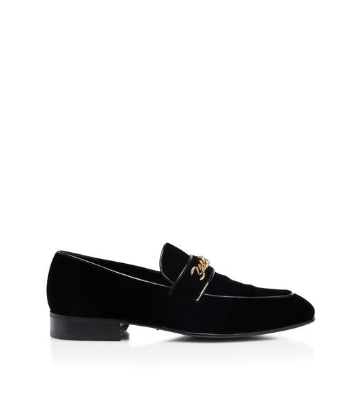 VELVET LEEDS CHAIN LOAFER