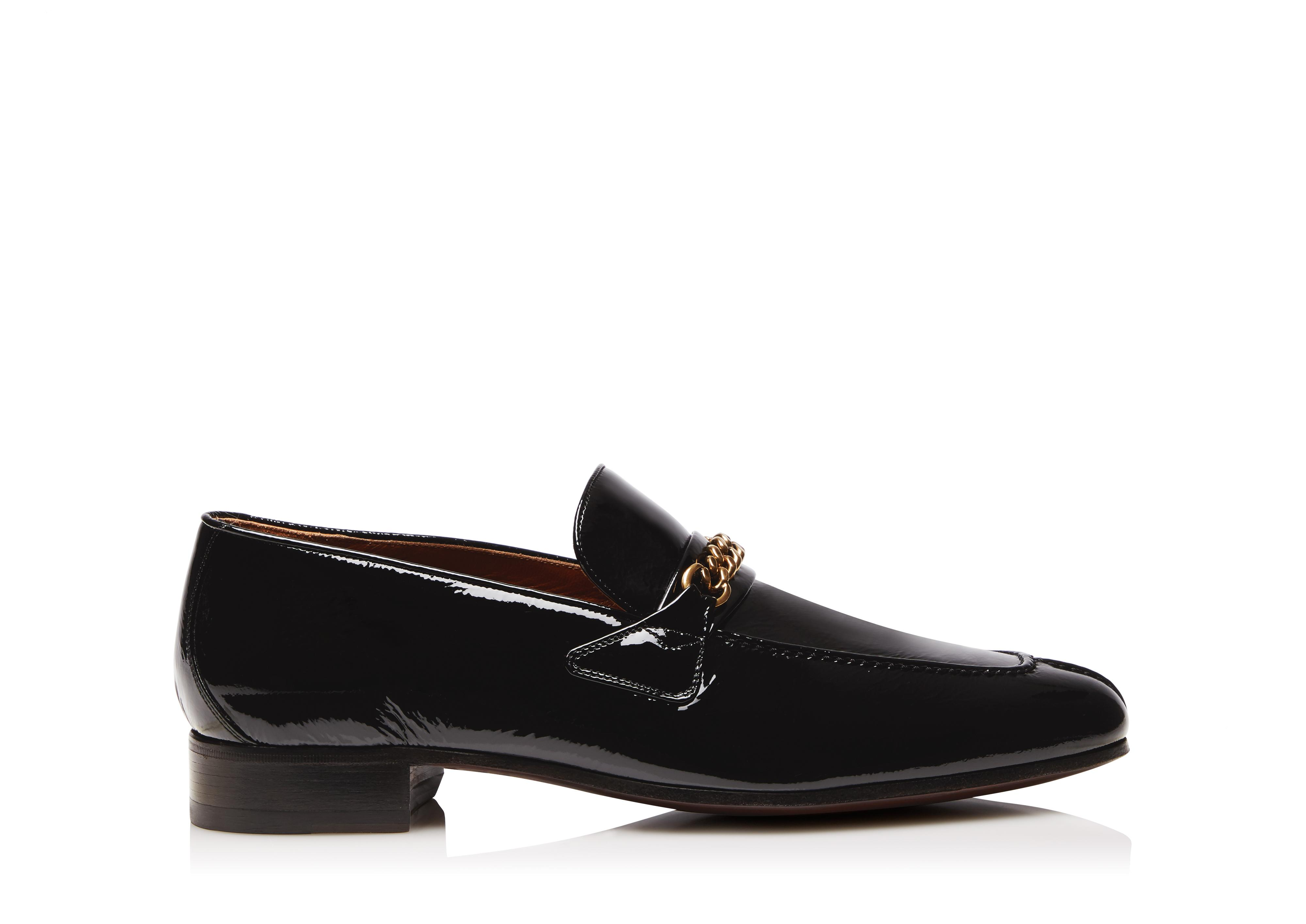 PATENT PEER CHAIN LOAFER A thumbnail