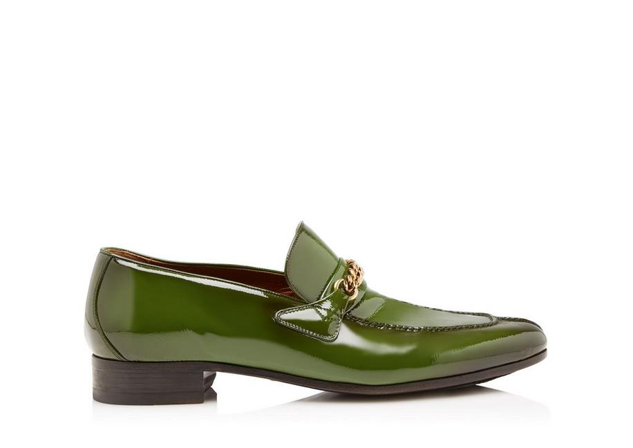 PATENT PEER CHAIN LOAFER A fullsize