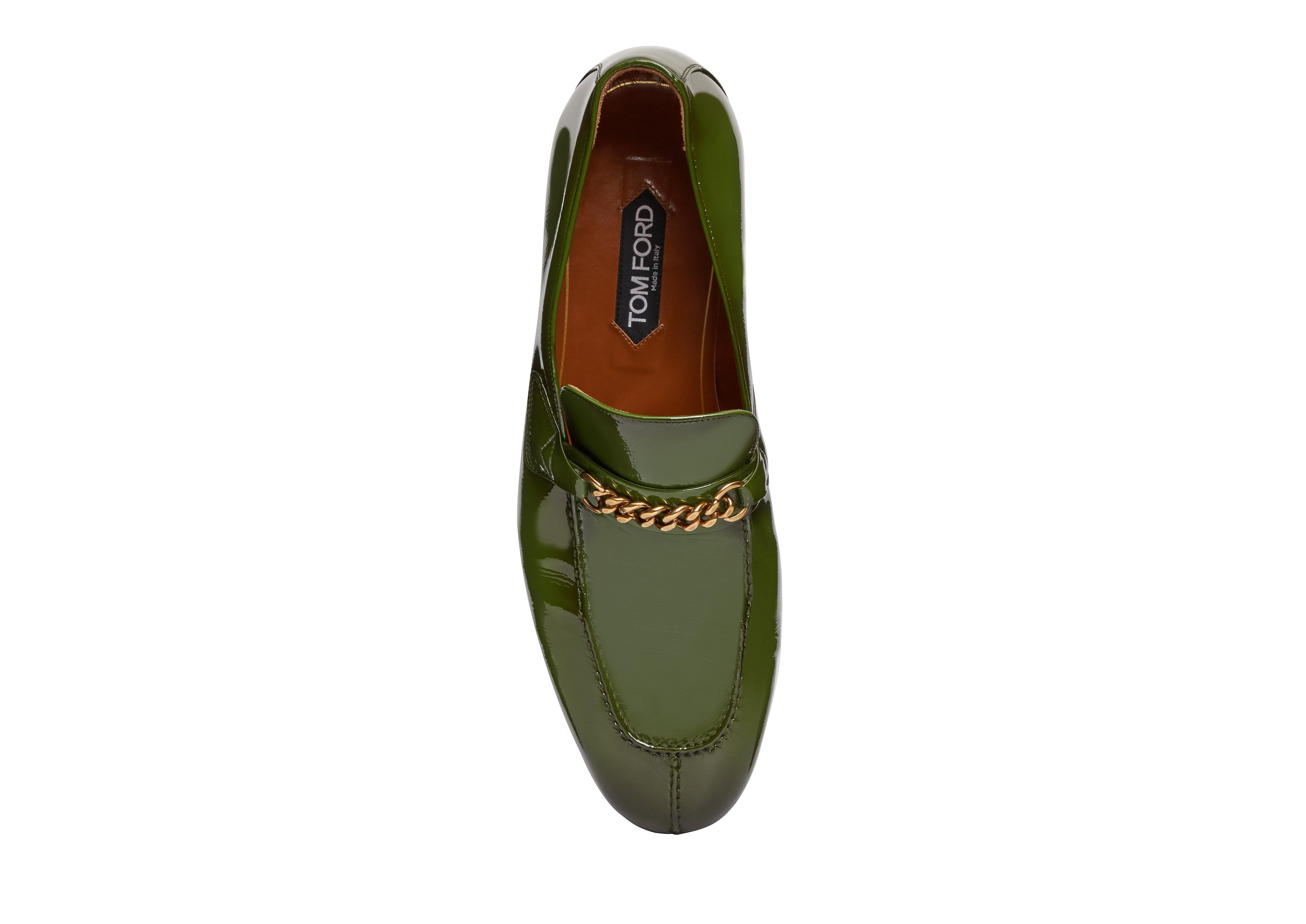 PATENT PEER CHAIN LOAFER B thumbnail