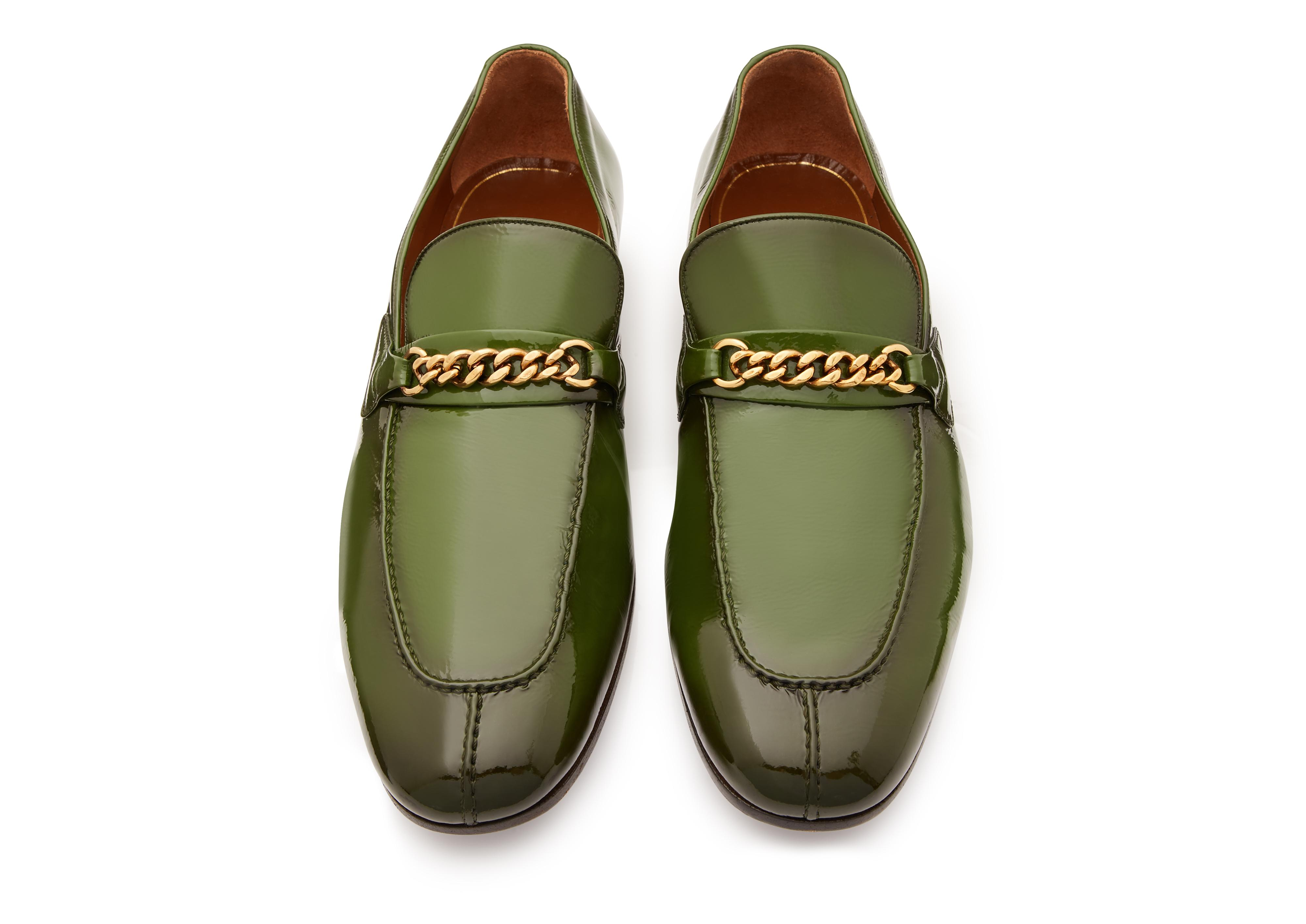 PATENT PEER CHAIN LOAFER C thumbnail