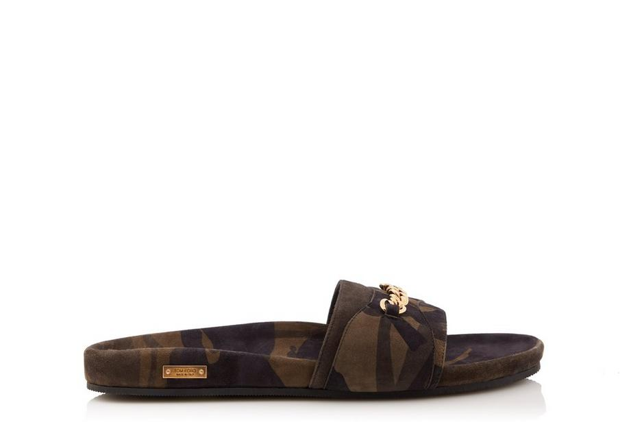 CAMOUFLAGE CHURCHILL CHAIN SANDALS A fullsize