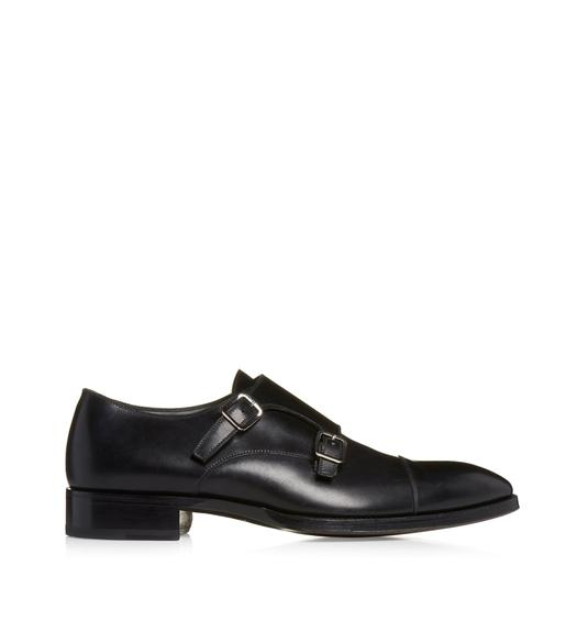 ELKAN DOUBLE MONK STRAPS