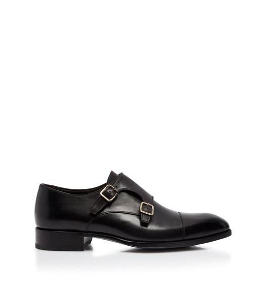 BURNISHED ELKAN DOUBLE MONK STRAPS 3ce61c236f