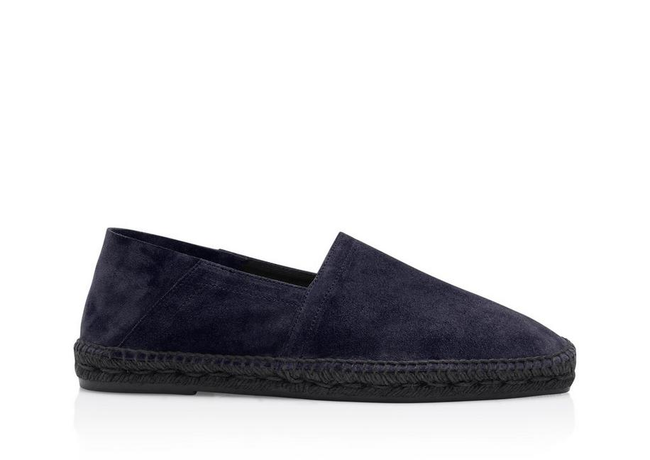 BARNES SUEDE AND LEATHER ESPADRILLES A fullsize