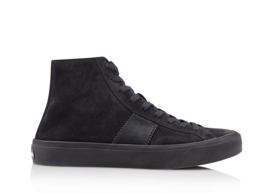 CROSTA SUEDE CAMBRIDGE HIGH TOP SNEAKERS A fullsize