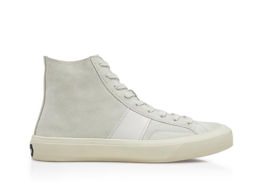 UNLINED CAMBRIDGE HIGH TOP SNEAKERS A fullsize