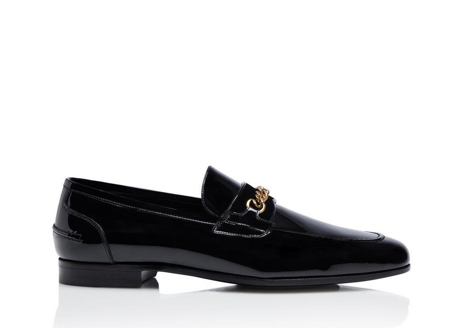 PATENT WILTON CHAIN LOAFER A fullsize