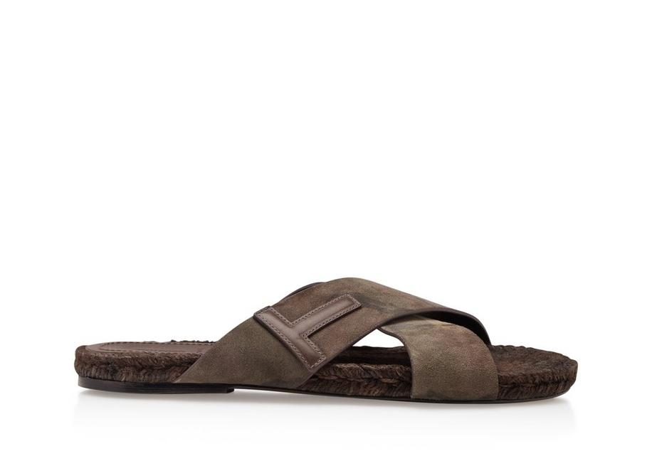 CAMOUFLAGE GRAFTON T SANDALS A fullsize