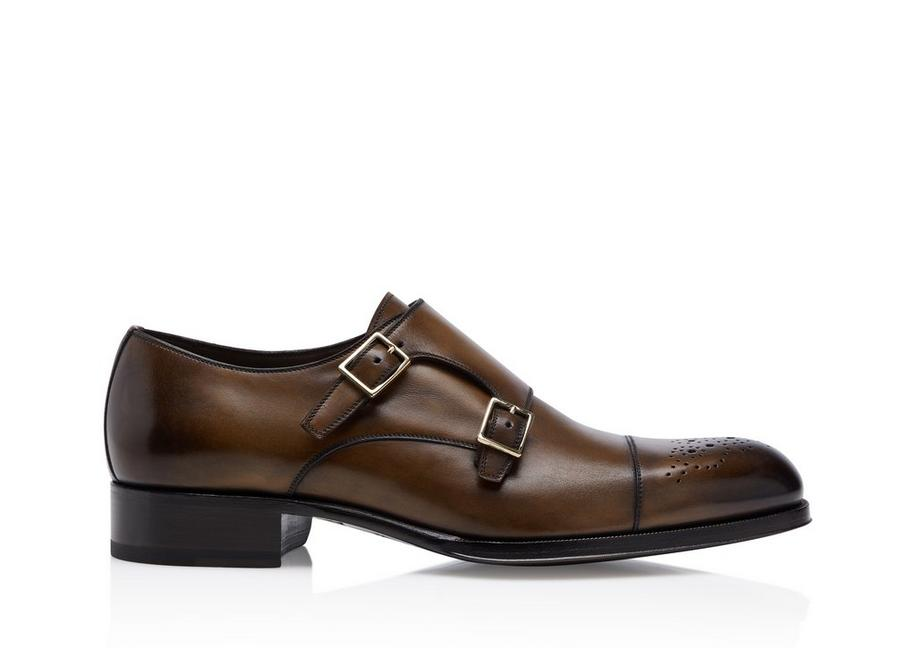 EDGAR HALF BROGUE DOUBLE MONKSTRAP A fullsize