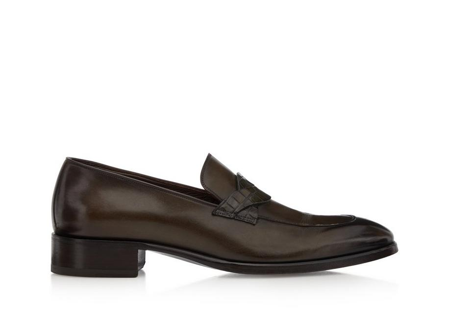 ELKAN TWISTED BAND LOAFERS A fullsize
