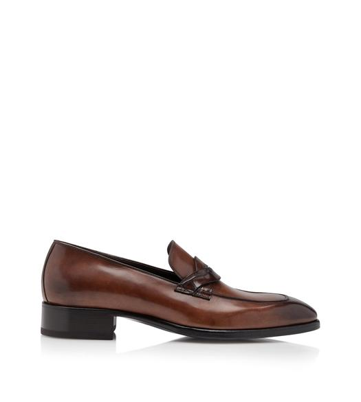 ELKAN TWISTED BAND LOAFERS