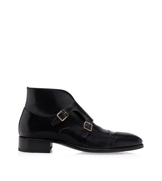 SUTHERLAND MONK STRAP BOOTS