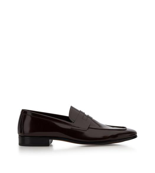 PATENT LEATHER MIDLANDS LOAFERS