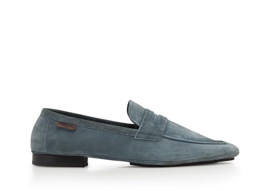 CASHMERE SUEDE BERWICK SOFT LOAFERS A fullsize