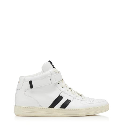 RADCLIFFE LEATHER HIGH TOP SNEAKERS