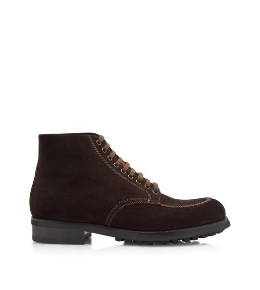 SUEDE LINCOLN LACE UP HIKING BOOT