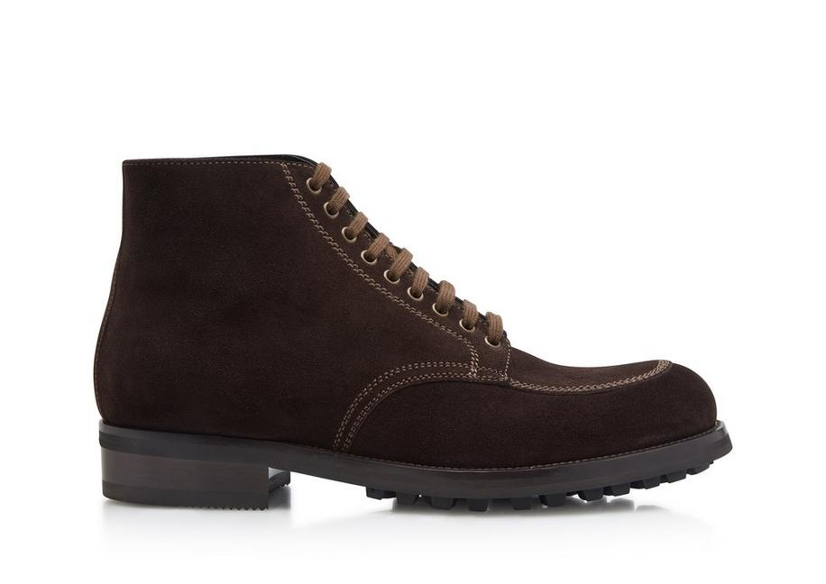 SUEDE LINCOLN LACE UP HIKING BOOT A fullsize