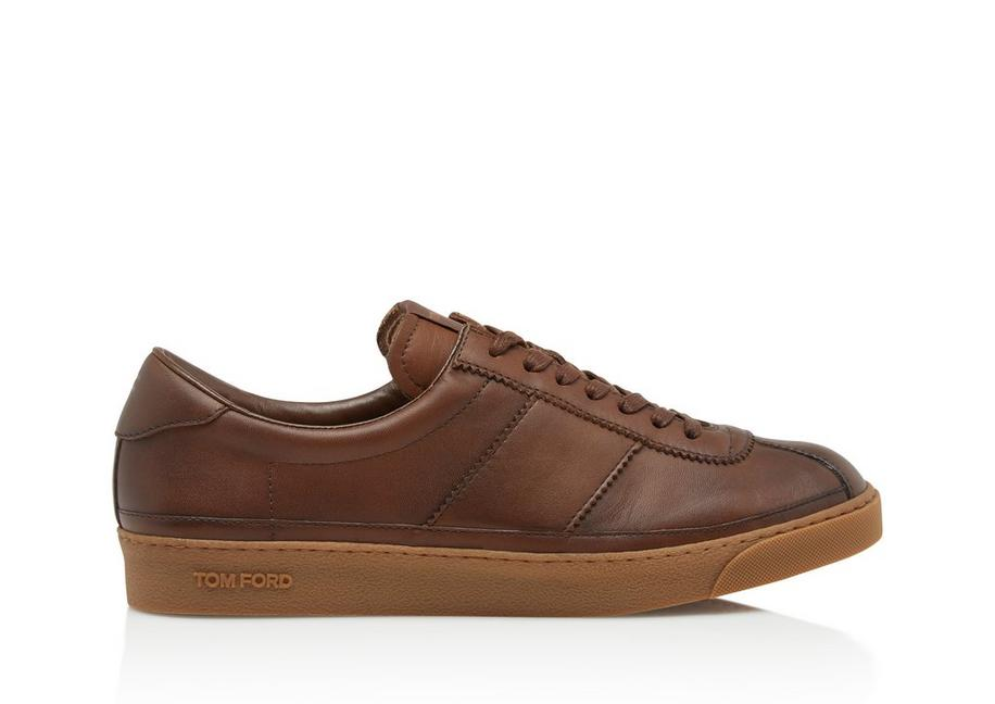 SMOOTH LEATHER BANNISTER SNEAKER A fullsize