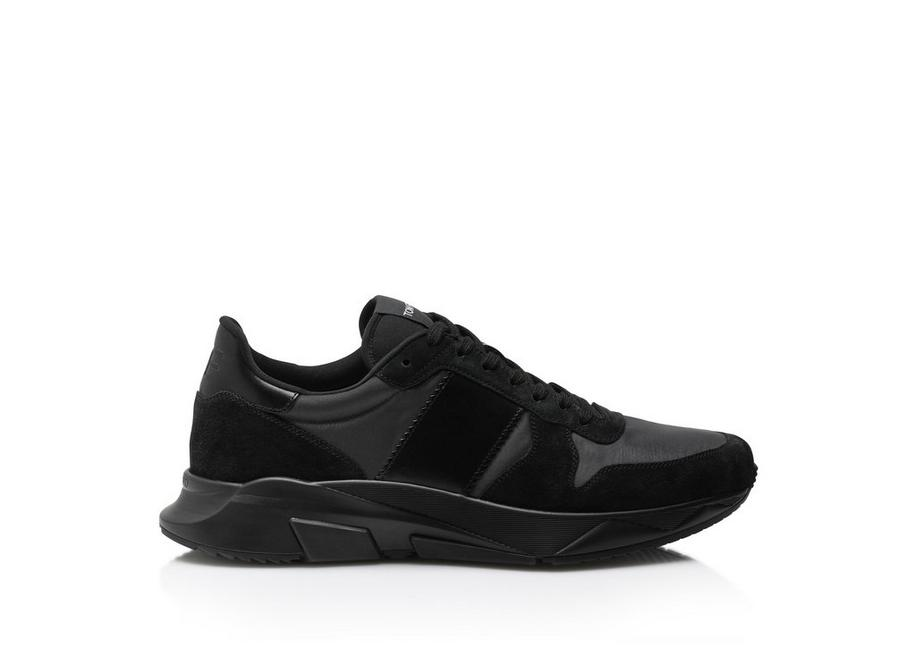NYLON AND SUEDE JAGGA SNEAKER A fullsize