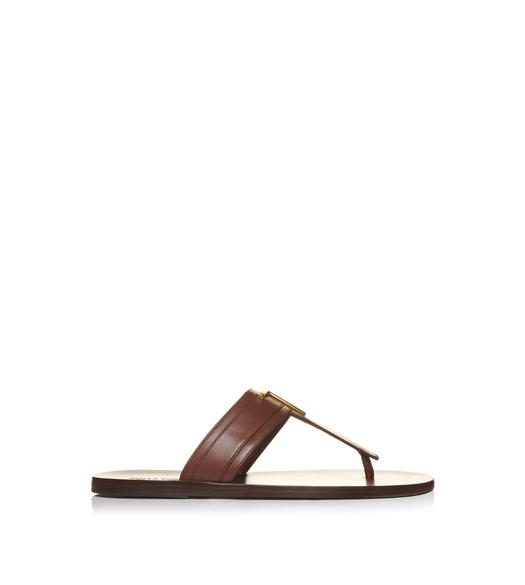 SMOOTH LEATHER BRIGHTON SANDAL