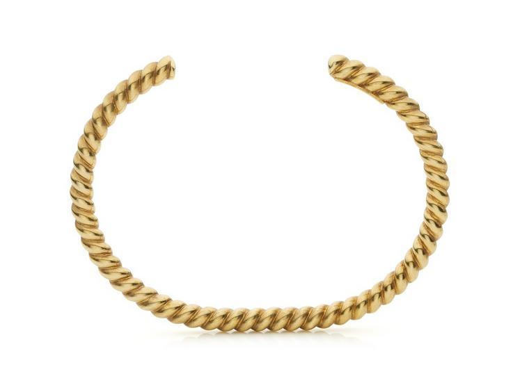 TOM FORD Slim Twisted Bracelet