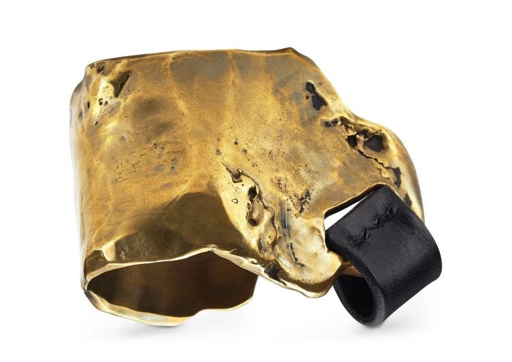 MELTED GOLD CUFF A fullsize