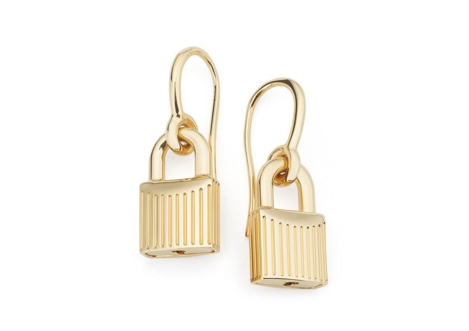 PADLOCK EARRINGS A fullsize