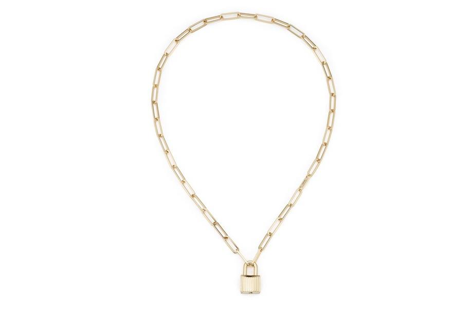 michael gold padlock pav us tone r kors is necklace
