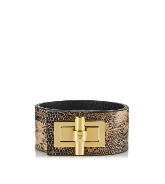 LIZARD NARROW NATALIA CUFF