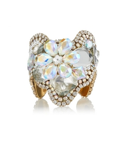 3005260913 CRYSTAL FLOWER CUFF