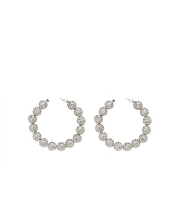 3005260920 DISCO HOOP EARRINGS