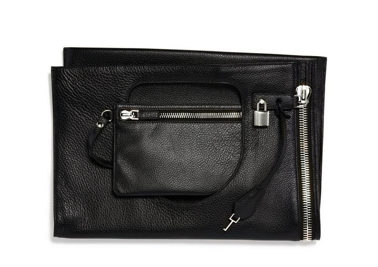 Alix Silver Zip Shoulder Bag B fullsize