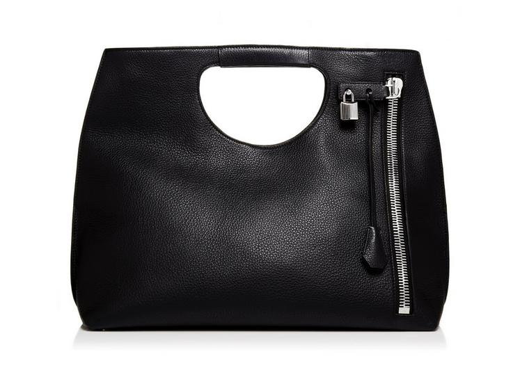 Alix Tote With Silver Zip A fullsize