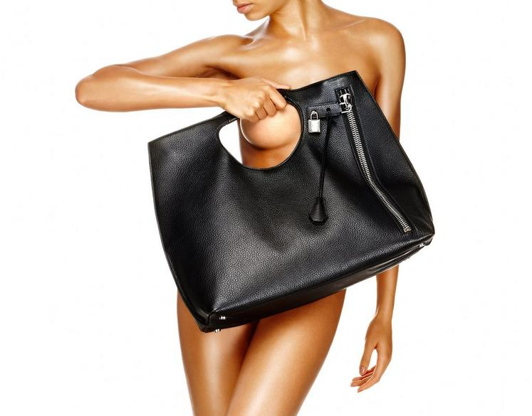 Alix Tote With Silver Zip F fullsize