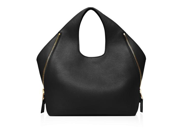 JENNIFER MEDIUM GRAINED LEATHER SHOULDER BAG D fullsize